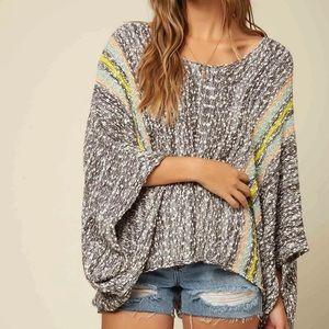 O'Neill Beachbums Poncho Oversized Sweater